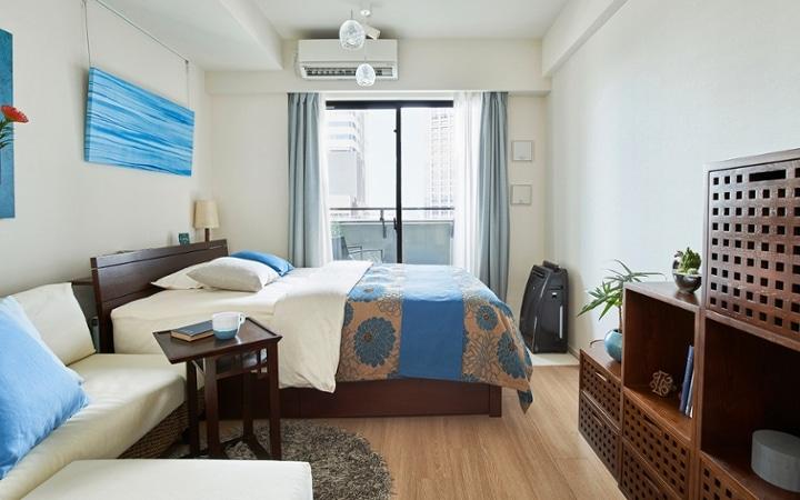 No.198 高級感溢れるホテルライクなワンルームのインテリアコーディネート:画像1