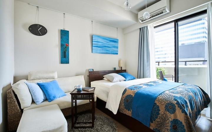 No.198 高級感溢れるホテルライクなワンルームのインテリアコーディネート:画像2