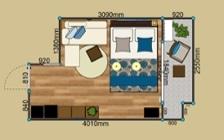 No.198 高級感溢れるホテルライクなワンルームのインテリアコーディネート:画像26