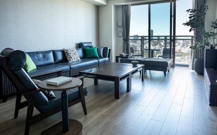 No.199 2回目の引っ越しを模様替えで充実させた都会的なインテリア空間:画像1