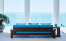 No.204 【リビングダイニング編】 沖縄のような透きとおる碧い海をイメージしたインテリアコーディネート:画像15