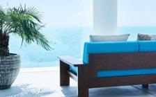No.204 【リビングダイニング編】 沖縄のような透きとおる碧い海をイメージしたインテリアコーディネート:画像16