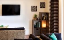 No.208 アジアンリゾート風の家具でリラックス感をテーマにした介護・福祉施設の実例